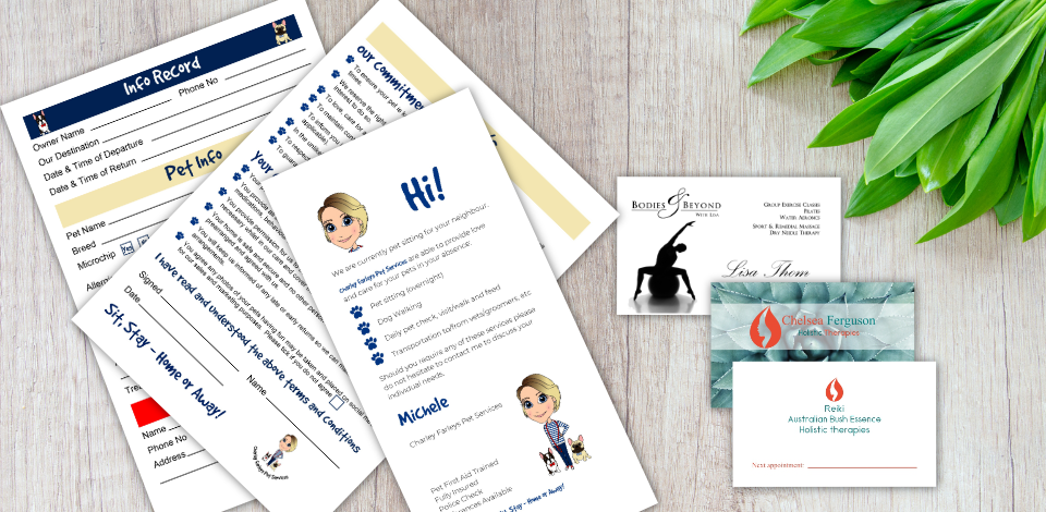 Just Jane Business Stationery Design